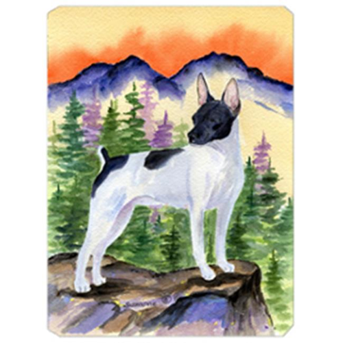 Carolines Treasures SS8224MP Rat Terrier Mouse Pad Hot Pad & Trivet