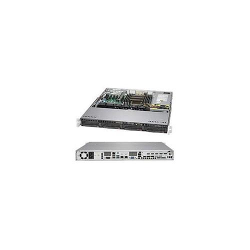 Supermicro SYS-5018R-M Super Server LGA2011 350 watt 1U Rackmount Server Barebone System Black
