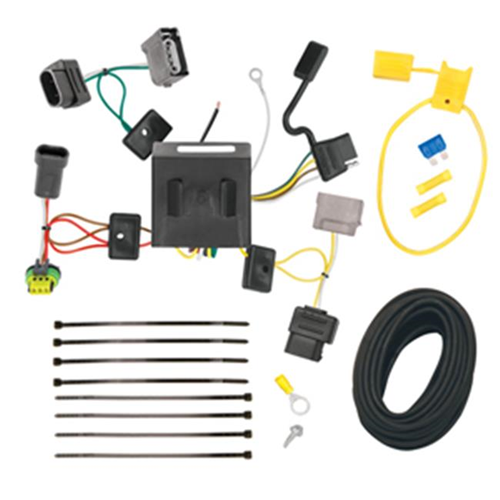 Tow Ready 118536 T-One Connector Assembly With Upgraded Circuit Protected Modulite HD Module 4 x 4.80 x 8.90 in.