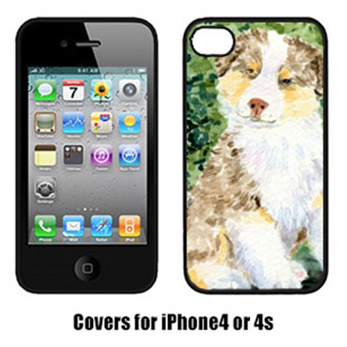 Carolines Treasures SS8847IP4 Australian Shepherd Cell Phone Cover Iphone4