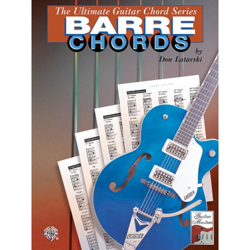 Alfred 00-0373B The Ultimate Guitar Chord Series- Barre Chords ...