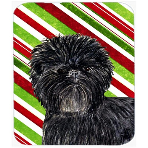 Carolines Treasures SS4580MP Affenpinscher Candy Cane Holiday Christmas Mouse Pad Hot Pad Or Trivet