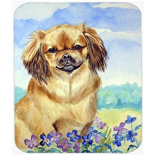Carolines Treasures 7078MP 9.5 x 8 in. Tibetan Spaniel Mouse Pad Hot Pad or Trivet