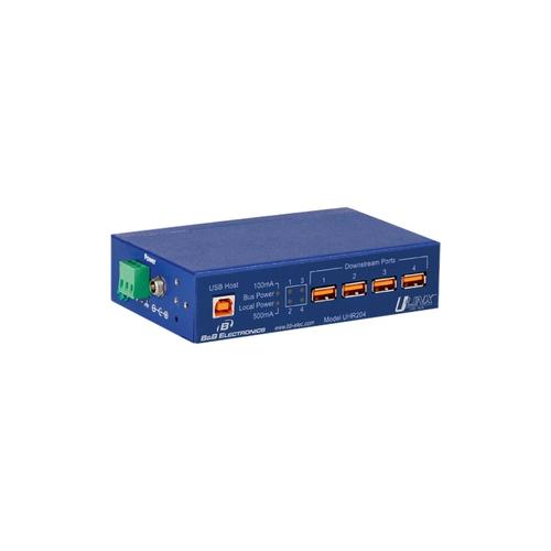 B and B Elect-Quatech UHR204 4-port USB Hub