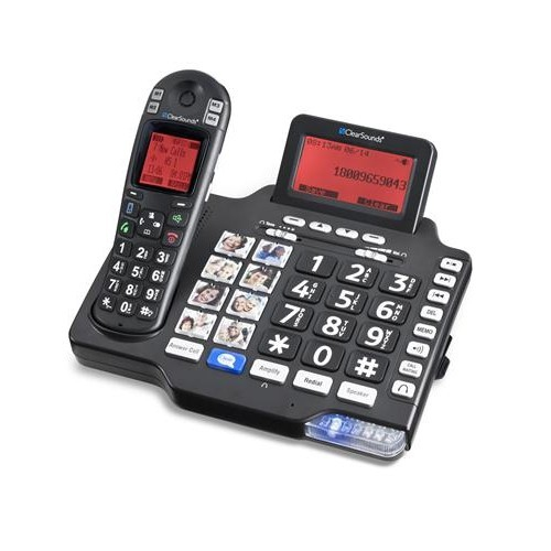 ClearSounds Communications CS-A1600BT Iconnect Amplified Cordless with Bluetooth