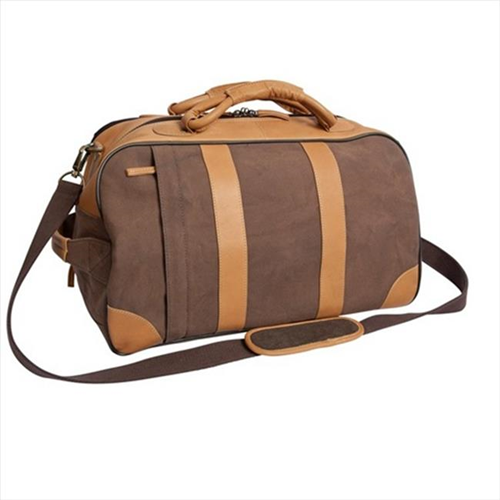 Canyon Outback Leather CT308D 20 in. Stilson Canyon Leather and Canvas Rolling  Duffel Bag Brown   Duffle Bags - Best Buy Canada 7fd2b53d5b520
