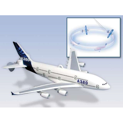Daron Worldwide Trading DYT1067 A380 Flying Toy On A String