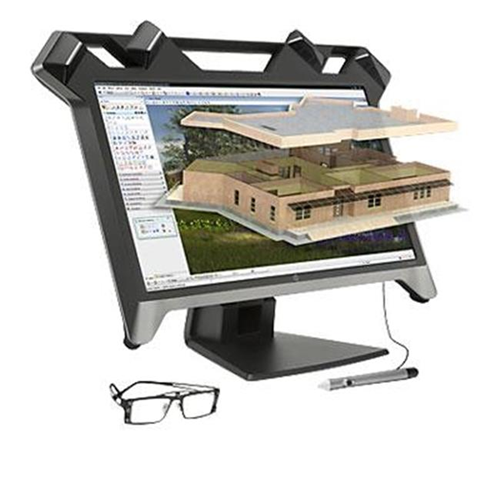 HP Commercial Specialty K5H59A8#ABA 23.6 in. Zvr Virtual Reality Display