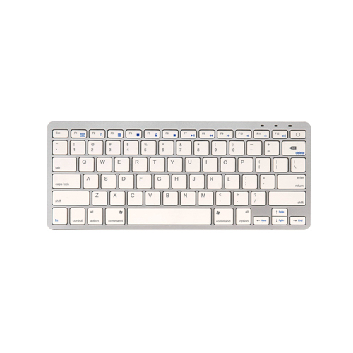 Lifeworks Technology Group 216140 Bluetooth Mac Keyboard Silver