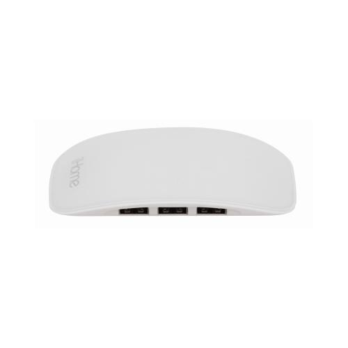 Lifeworks Technology Group 216145 4-Port USB Hub White
