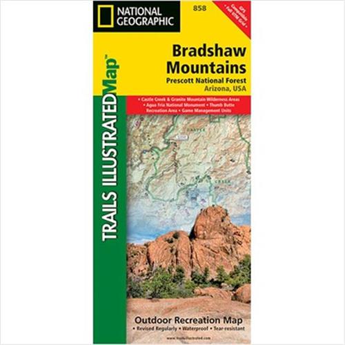 National Geographic Maps TI00000858 dshaw Mountains Prescott ... on