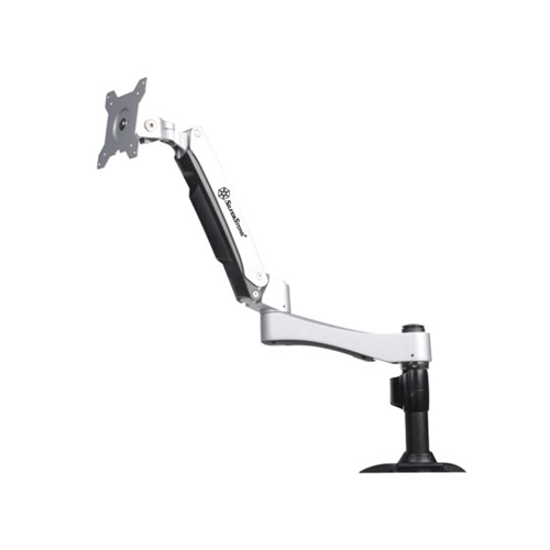 Silver Stone Technologies ARM11BC ARM One Single LCD Interactive Monitor Mount - Black