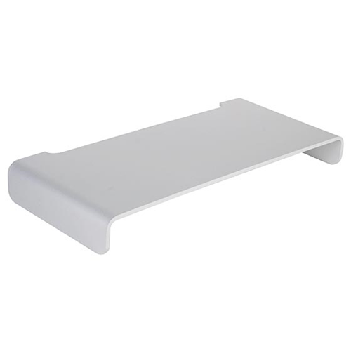 Silver Stone Technologies MR01S Monitor Riser - Silver