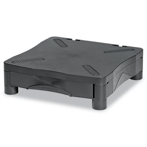 Kelly Computer Supply KCS10368 Monitor-Printer Stand with Drawer13 .25 x 13 .5 x 4 Black