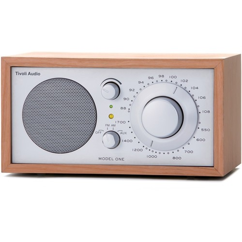 Tivoli Audio Model One AM/FM Table Radio (Black/Black/Silver Grill)