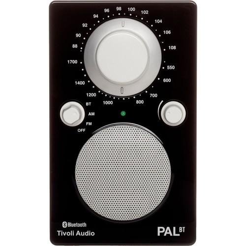 TivoliPAL BT Bluetooth Portable Radio Glossy Black PALBTGBLK
