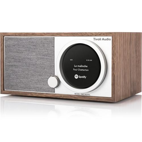 Tivoli Audio Model One Digital M1DWAL Wireless Speaker Fm / Wi-Fi / Bluetooth / Table Radio - Walnut