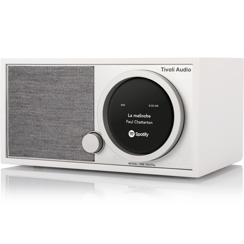 Tivoli ART Collection Model One Digital M1DWHT Wireless Speaker Fm / Wi-fi / Bluetooth / Table Radio White