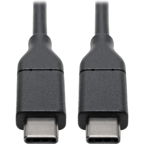 Tripp Lite USB 2.0 Hi-Speed Cable with 5A Rating, USB-C to USB-C (M/M), 6 ft.