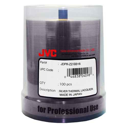 JVC/TAIYO YUDEN DVD-R4.7GB/120MIN Premium Line 16X Silver Thermal Lacquer