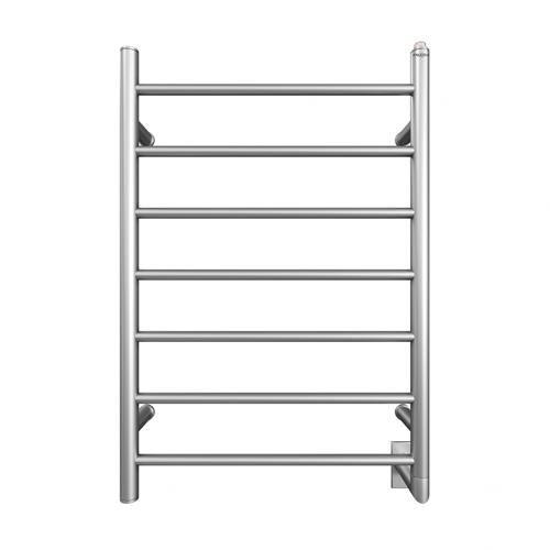 Comfort 7 31 in.Wall Hardwire Electric Towel Warmer and Drying Rack in Brushed Stainless Steel
