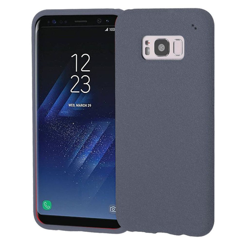 Insten Frosted Spot Rubber Case For Samsung Galaxy S8, Gray