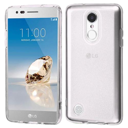Insten Glitter TPU Case For LG Aristo/Fortune/K4 (2017)/K8 (2017)/LV3/Phoenix 3, Clear