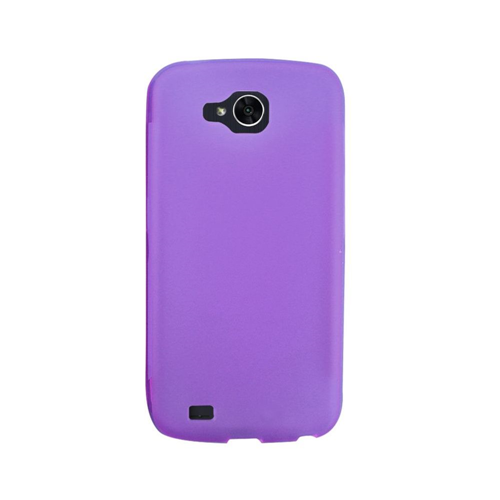 Insten Rubber Cover Case For LG X Venture, Purple