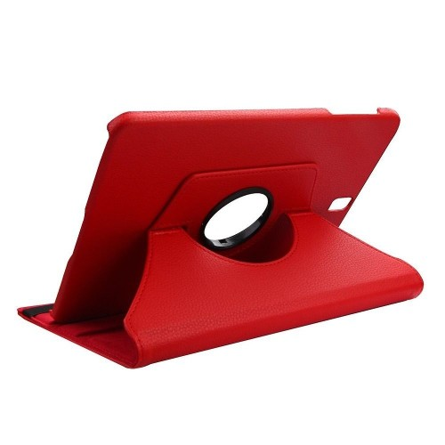 "Insten Folio Leather Fabric Case w/stand For Samsung Galaxy Tab S3 9.7"", Red"