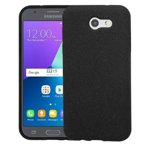 Insten Frosted Spot TPU Case For Samsung Galaxy Amp Prime 2/J3 (2017)/J3 Emerge, Black
