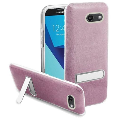 Insten Glitter Hard Case For Samsung Galaxy Halo/J7 (2017)/J7 Perx/J7 Prime, Hot Pink