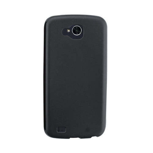 Insten TPU Rubber Cover Case For LG X Venture, Black