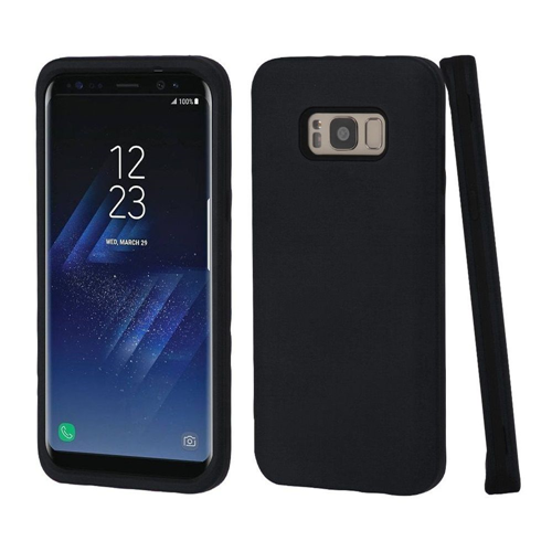 Insten Hard Hybrid Plastic TPU Cover Case For Samsung Galaxy S8 Plus, Black