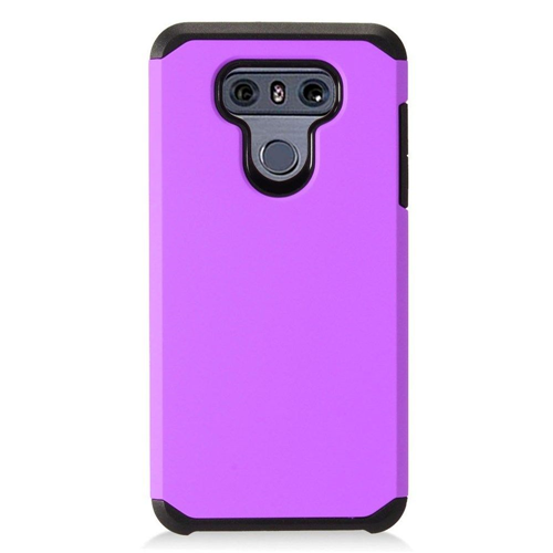 Insten Hard Hybrid Plastic Case For LG G6, Purple