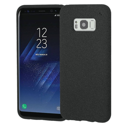 Insten Frosted Spot TPU Rubber Case For Samsung Galaxy S8 Plus, Black