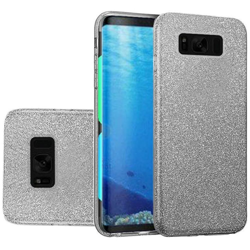 Insten Hard Glitter TPU Case For Samsung Galaxy S8, Smoke
