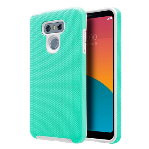 Insten Hard Hybrid Plastic TPU Cover Case For LG G6, Teal