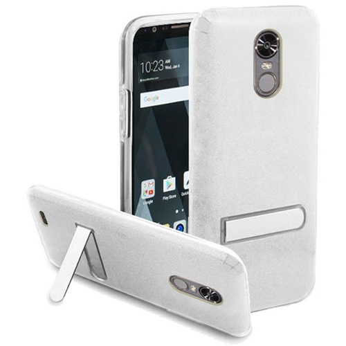 Insten Hard Plastic TPU Cover Case w/stand For LG Stylo 3/Stylo 3 Plus, Clear
