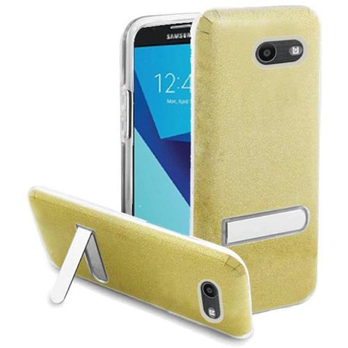 Insten Glitter Hard Case For Samsung Galaxy Halo/J7 (2017)/J7 Perx/J7 Prime/J7 Sky Pro/J7 V, Gold
