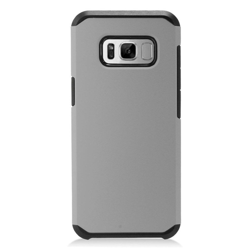 Insten Hard Hybrid Plastic Case For Samsung Galaxy S8 Plus, Gray