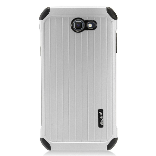 Insten Carry On Hard Case For Samsung Galaxy J7 (2017)/J7 Perx/J7 Prime/J7 Sky Pro/J7 V, Silver