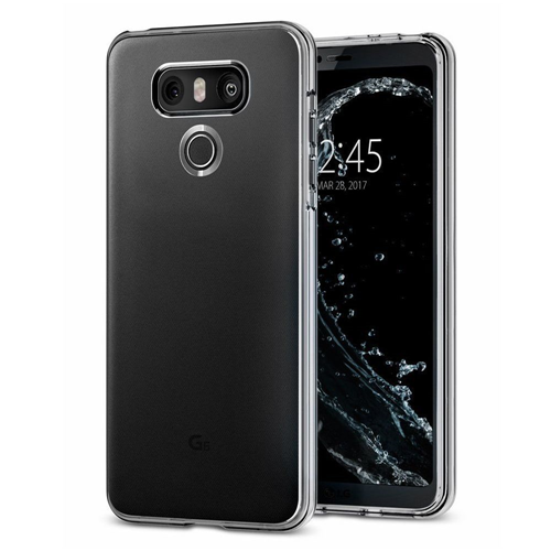 Insten TPU Rubber Crystal Case For LG G6, Clear