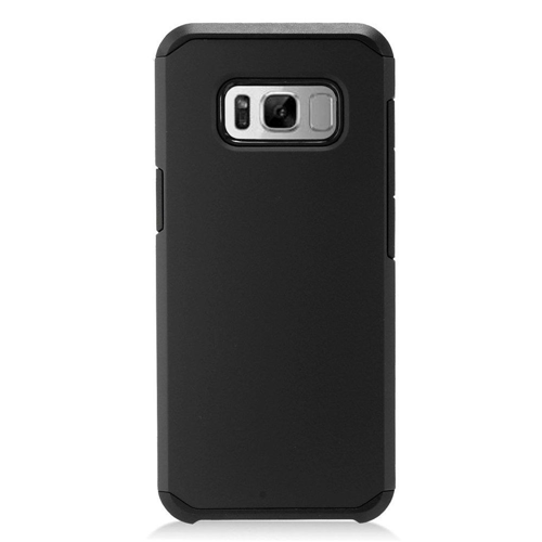 Insten Hard Dual Layer Plastic Case For Samsung Galaxy S8 Plus, Black