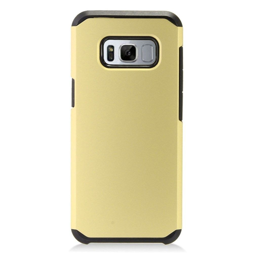 Insten Hard Hybrid Plastic Cover Case For Samsung Galaxy S8 Plus, Gold