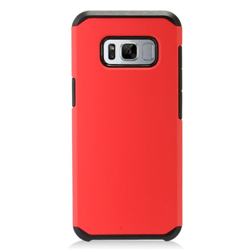 Insten Fitted Hard Shell Case for Samsung Galaxy S8 Plus - Red