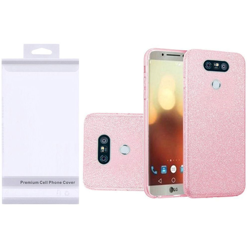 Insten Hard Glitter TPU Case For LG G6, Pink