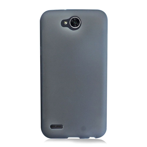 Insten Frosted TPU Rubber Cover Case For LG X Power 2, Black