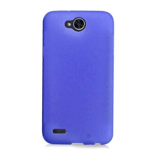 Insten Frosted TPU Rubber Case For LG X Power 2, Blue