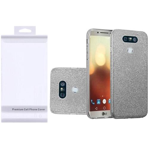 Insten Hard Glitter TPU Cover Case For LG G6, Smoke