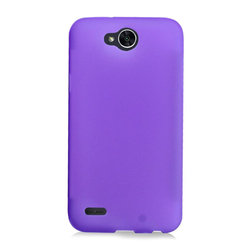 Insten Frosted Rubber Cover Case For LG X Power 2, Purple